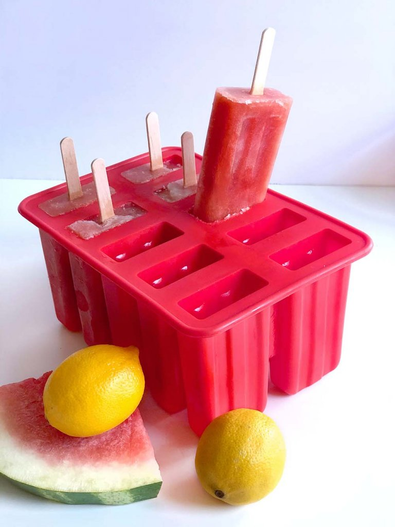 How to make a coconut popsicle with a silicone popsicle mold