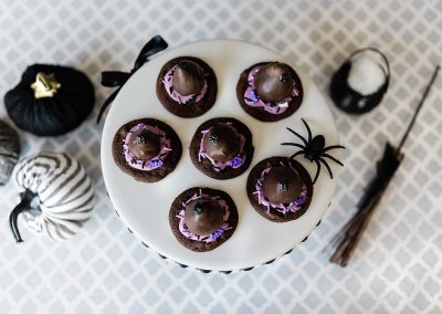 Witch Hat Cookies for a Healthier Halloween