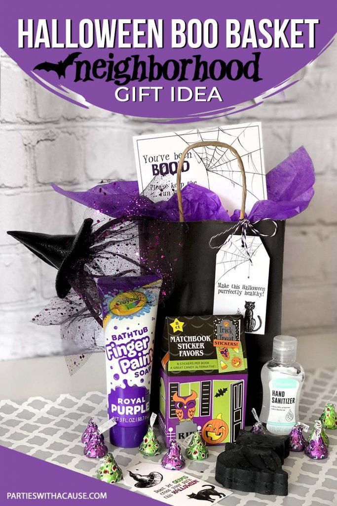 Germ free Neighbor gift for Boo game Halloween by Salt Lake Party Stylist
