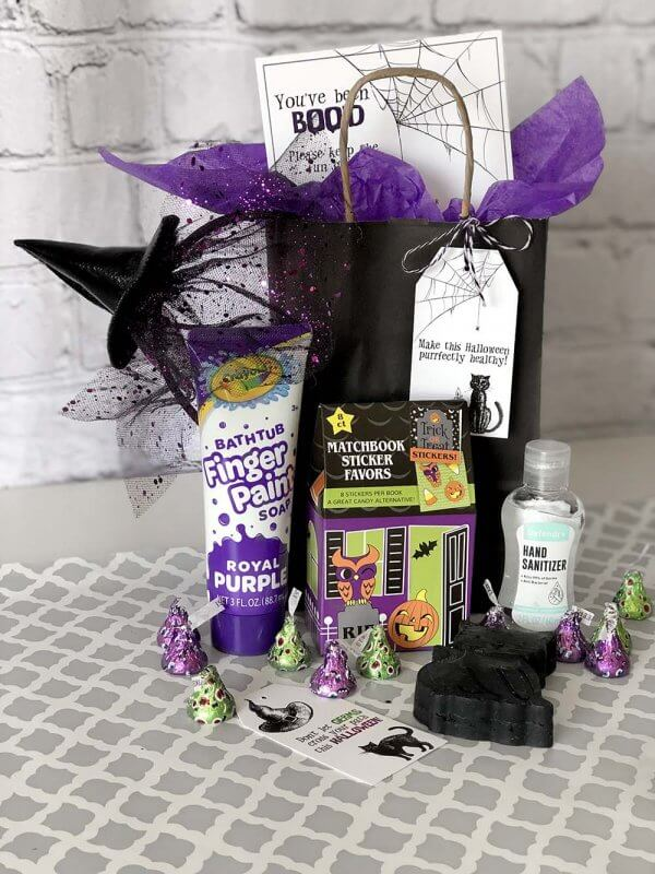 Germ free Neighbor gift for Boo game Halloween