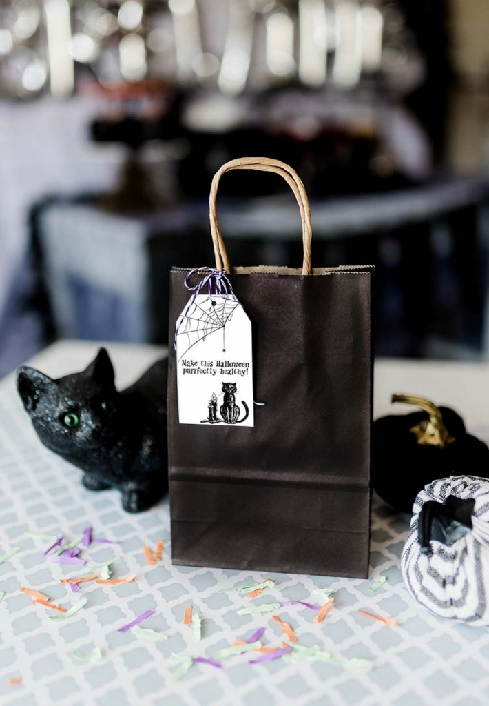 Halloween soap gift bag to Say BOO to germs
