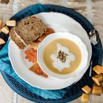 Butternut Squash Soup Recipe – Apple and Ginger