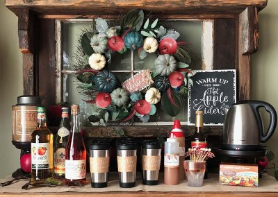 Apple Cider Bar: How to for Harvest Party