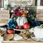Thanksgiving Food Table Ideas for a Rustic Holiday