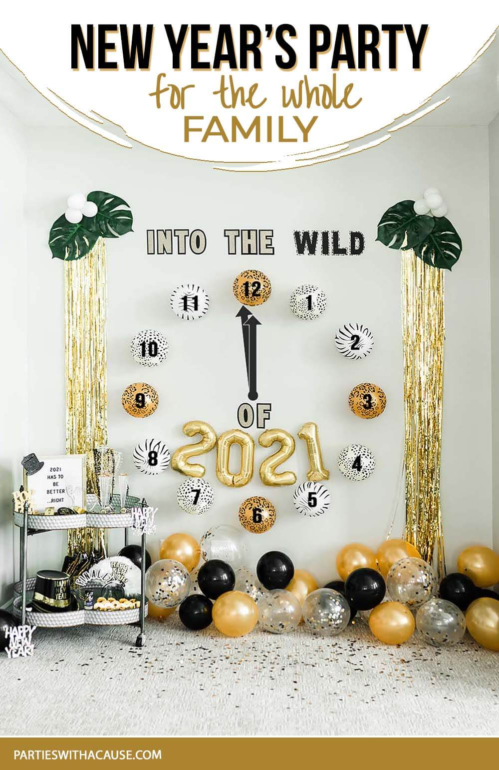Into the WILD of 2021 New Years Eve Party by Salt Lake Party Stylist