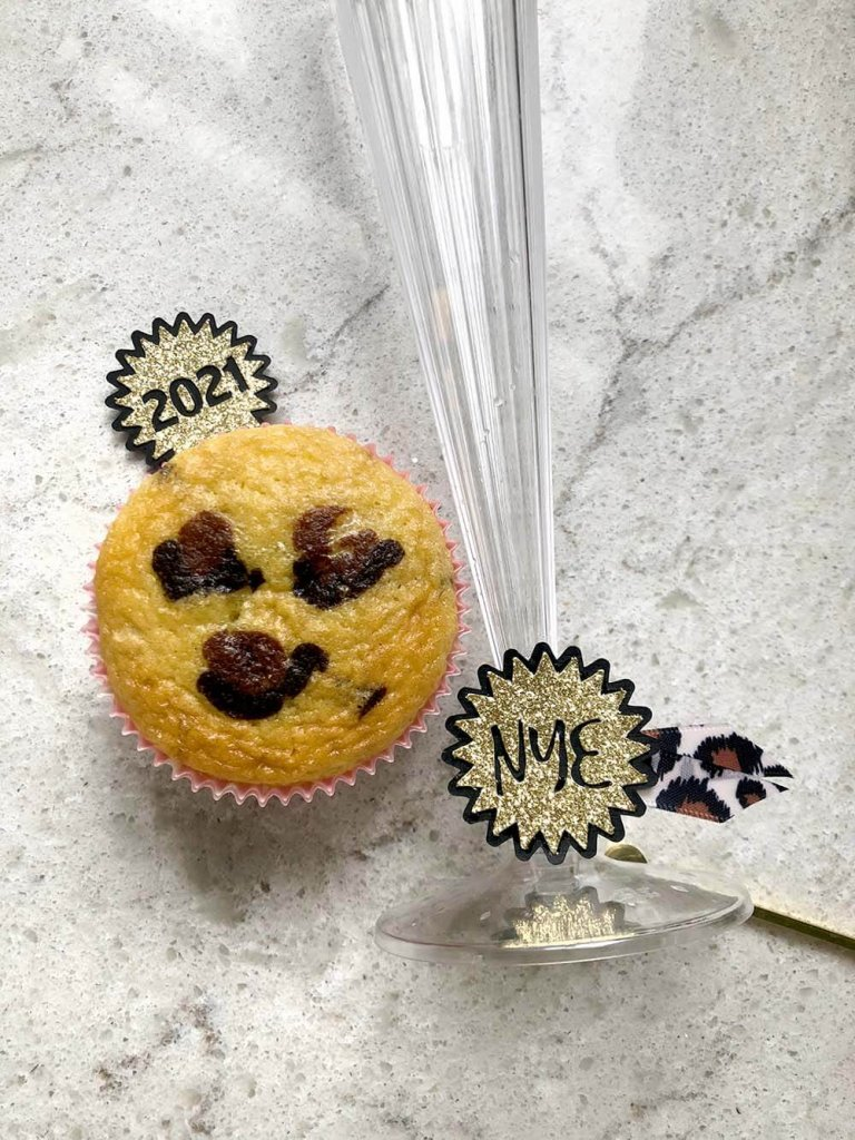 leopard print cupcakes for safari party themed new years eve