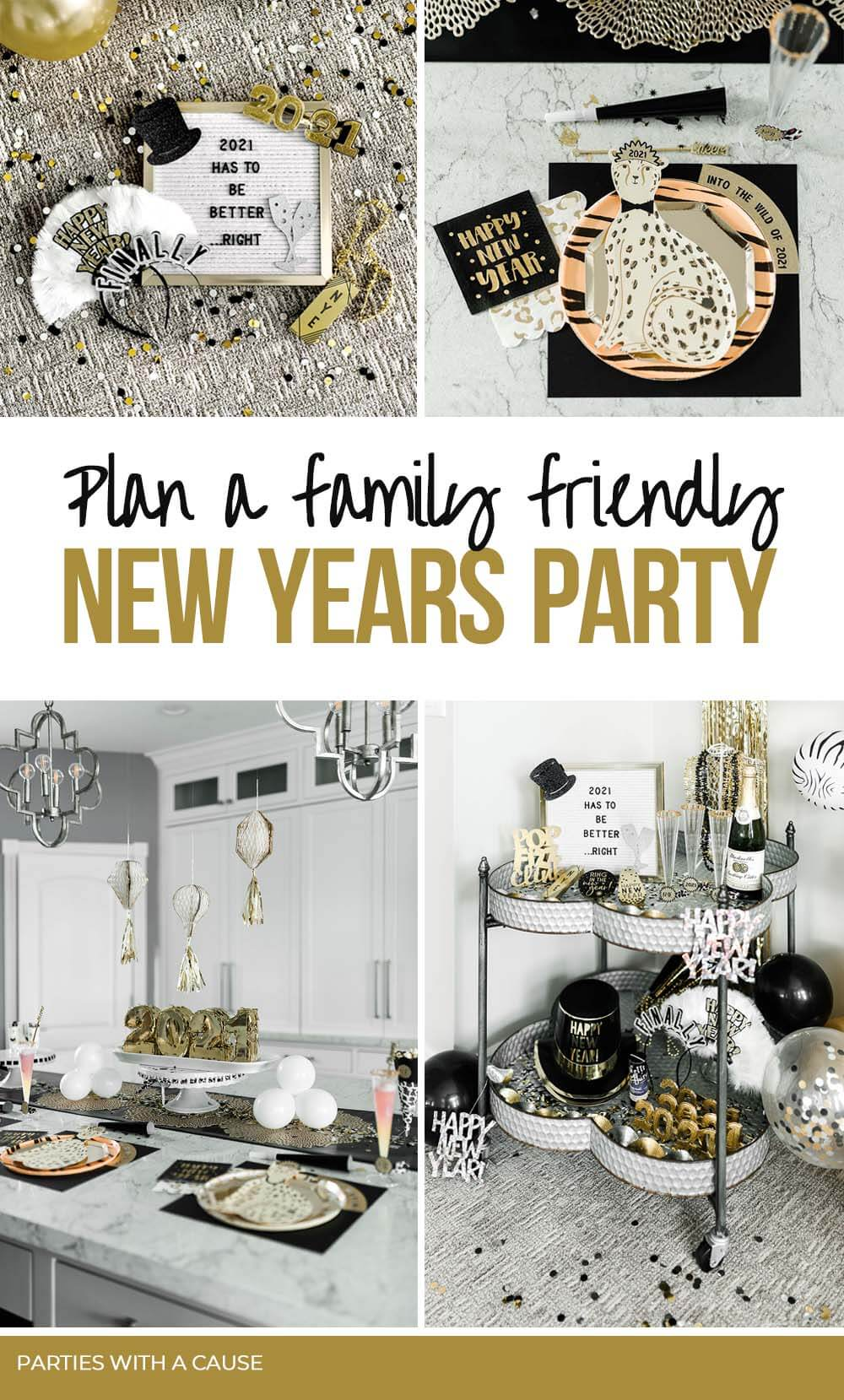 Family friendly New Years Eve Party by Salt Lake Party Stylist