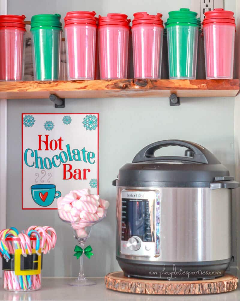Easy Instant pot hot chocolate