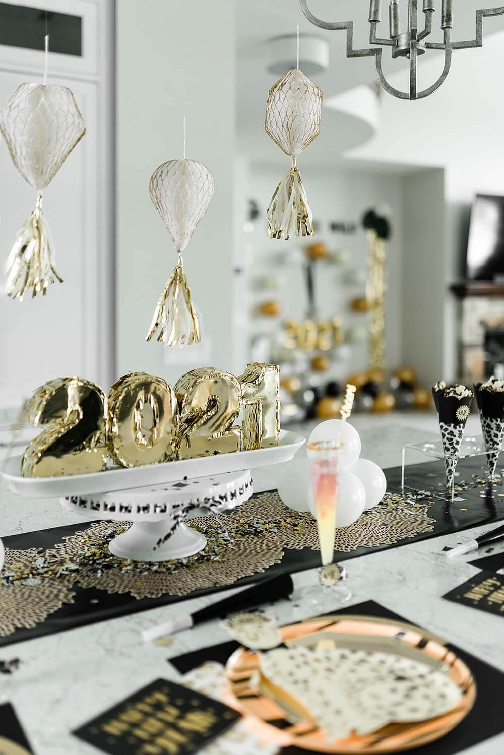 Food and fun with a family friendly New Years Eve Party on the WILD side