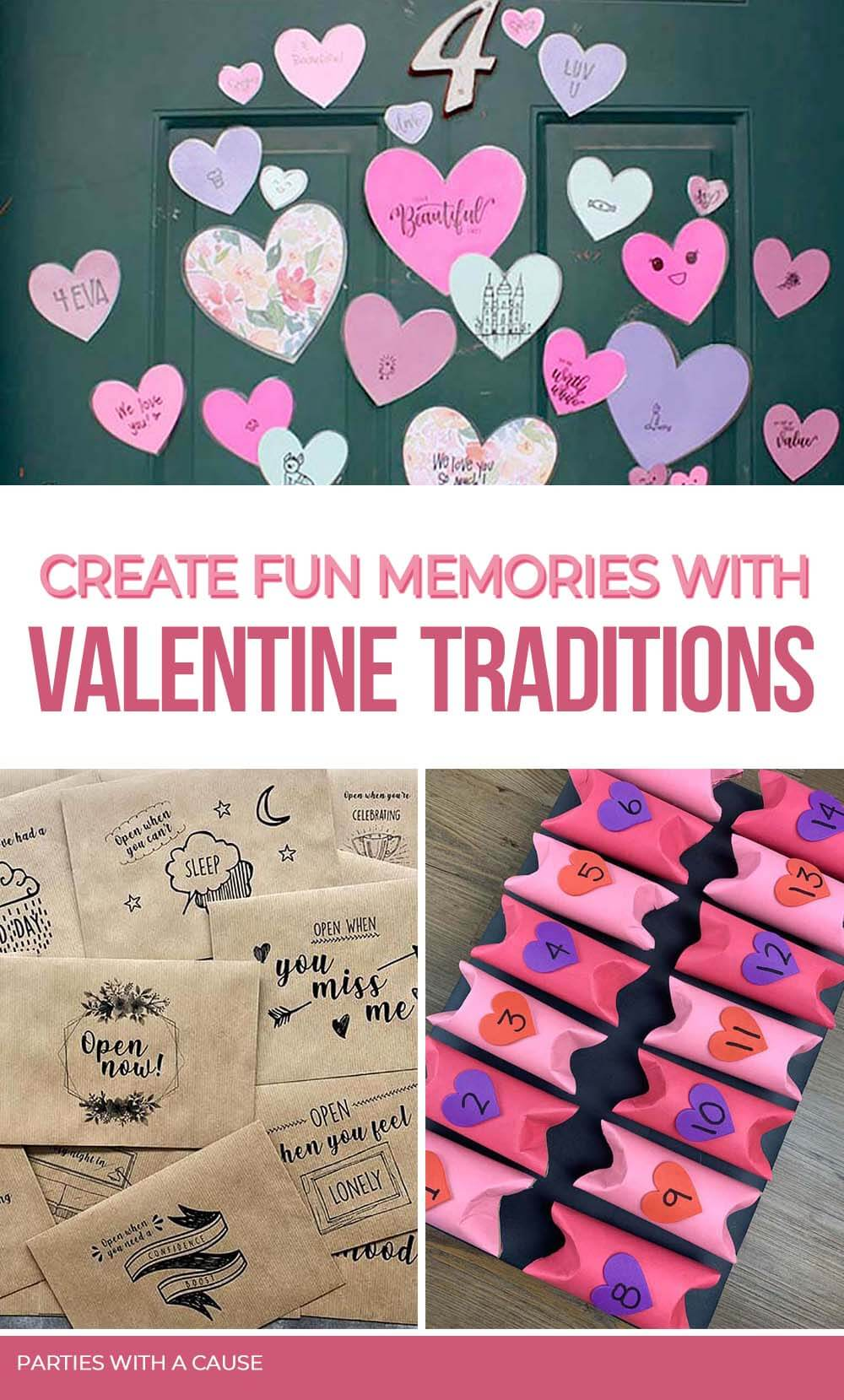 Create fun memories with Valentine's Day special traditions