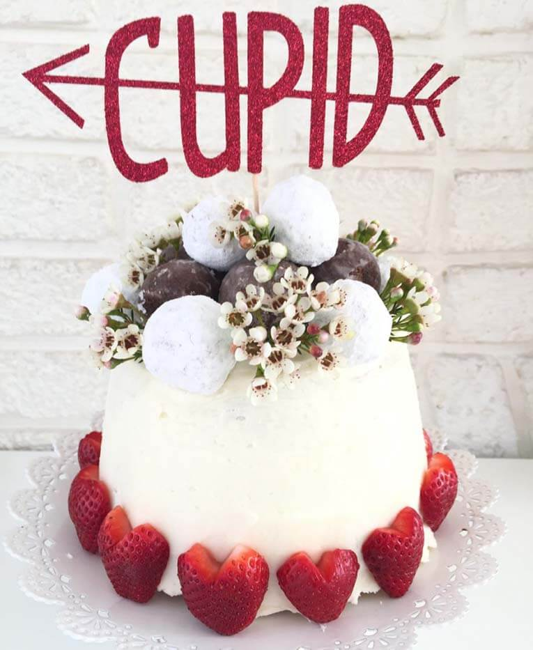 Lavender pound cake for cupid