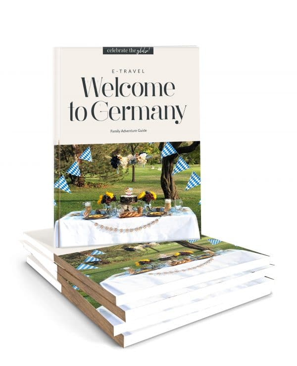 Family Adventure Guides for Germany in a stack