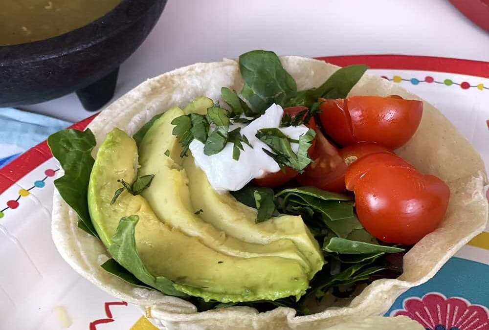 How to Make a Tostada in Easy Taco Salad Cups