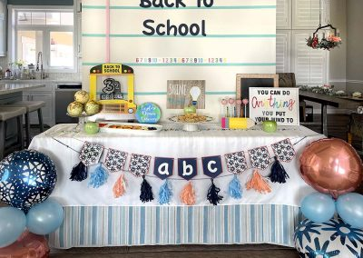 Back To School Party With Good After School Snacks