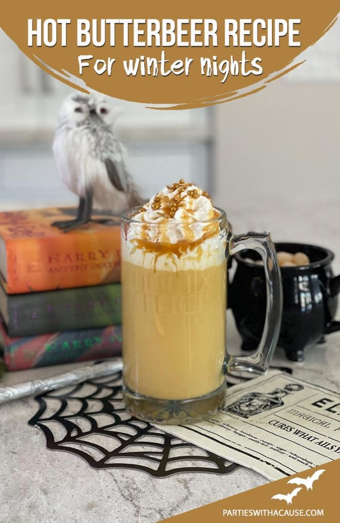 Hot butterbeer recipe for winter nights