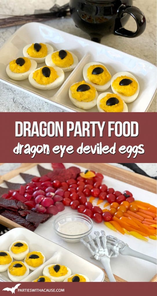 how to make dragon eye party food - by Salt Lake party stylist