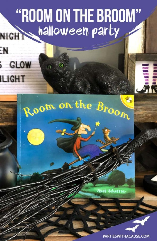 Room on the Broom Halloween party by Salt Lake party stylist