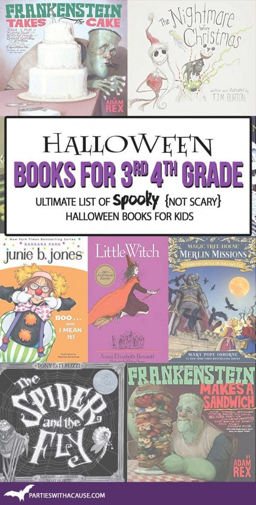 Halloween books for kids in 3rd and 4th grade