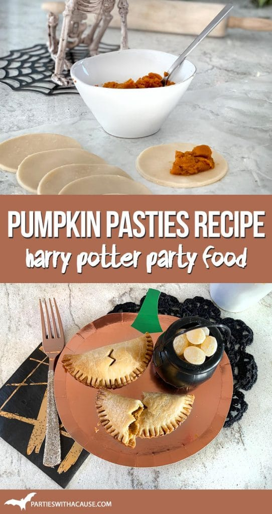 Pumpkin Pasties Easy Recipe from Harry Potter by Salt Lake party stylist